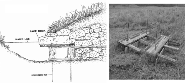 Lunker structures Provide Cover For Trout While Also Stabilizing Streambanks