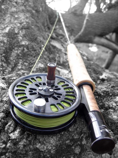 "Paul's Orvis ""Super Fine"" 7-foot 4-Weight rod with Able Reel – A great little rod for fishing small streams amidst woods and tight stream brush"
