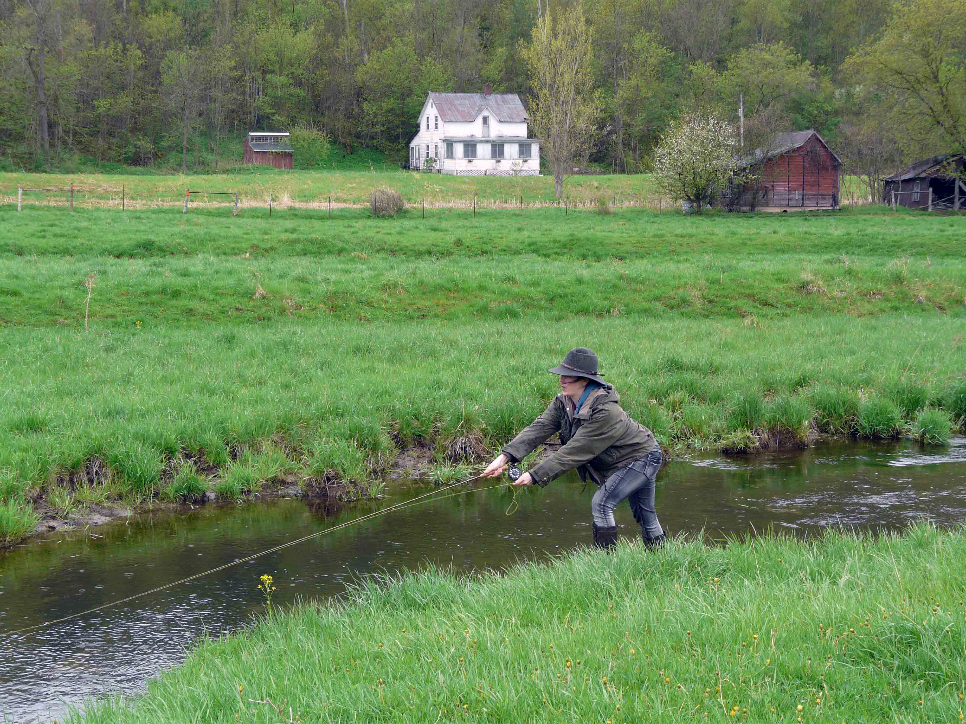 Timber coulee wifly a wisconsin flyfishing blog for Fish creek wi weather