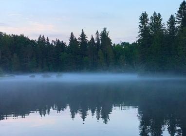bois brule river mist